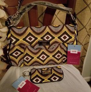 New! Gigi Hill Purse & Cosmetic Bag